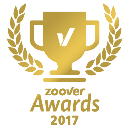 zoover award Gold 2017